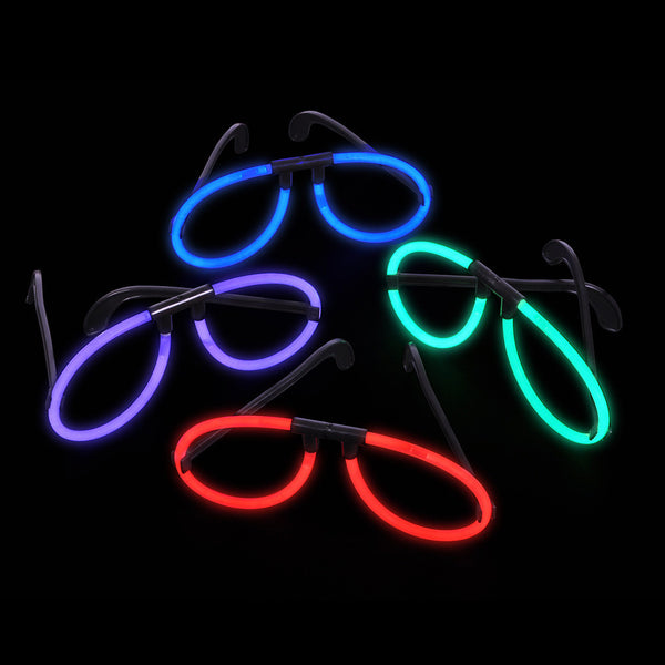12 Glow Glasses (Colour options)