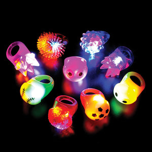 "1"" Light-Up Ring Assortment (48 pieces)"