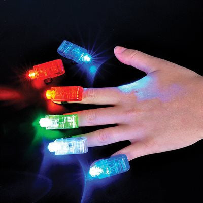 4 Light Up Finger Beams (Pack of 4)