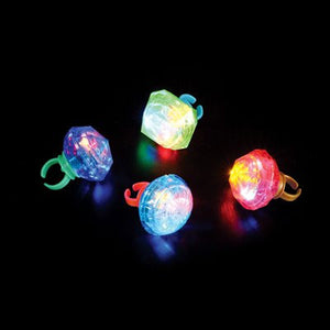 Jumbo Light Up Ring (Pack of 12)