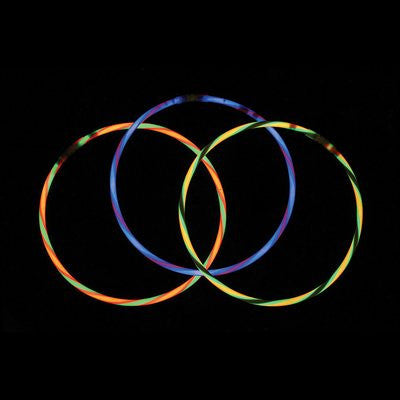 GLNSWA - Assorted Swirl Glow Necklaces