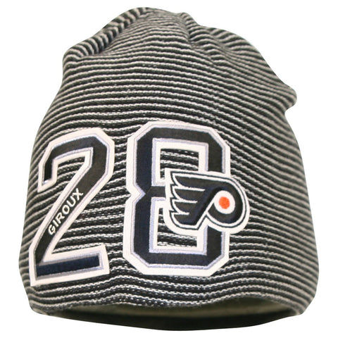 Claude Giroux Reebok #28 NHL Stars Striped Knit Hat Beanie