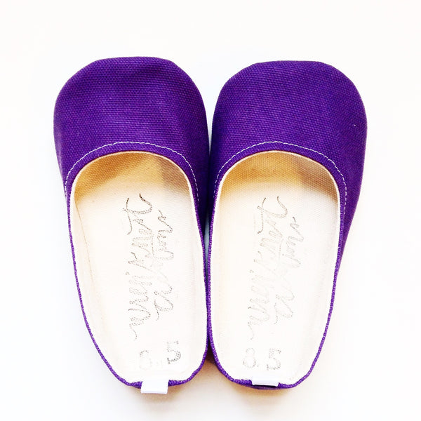 "Color Punch Flats in ""Grape Jelly"""