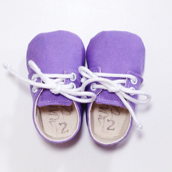 "Color Punch Sneakers in ""Lilac"""