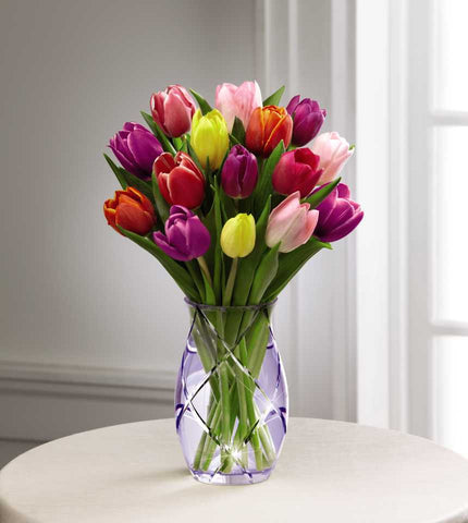 The FTD® Spring Tulip Bouquet by Better Homes and Gardens® (15-S2)