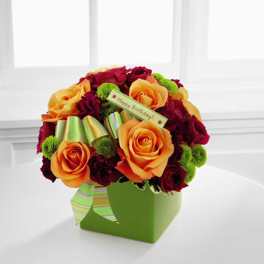 The FTD® Birthday Bouquet (BDY) – Talisman Flowers