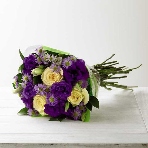 The FTD® Angelique™ Hand-Tied Bouquet (C17-4842h)