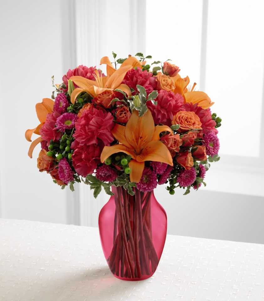 The FTD® All Is Bright™ Bouquet (C7-4862) – Talisman Flowers