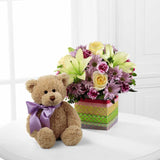 The FTD® Welcome™ Bear Bouquet (D6-4907)