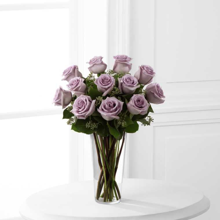 The FTD® Lavender Rose Bouquet (E3-4811)