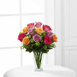 The FTD® Pure Enchantment™ Rose Bouquet (E6-4821)