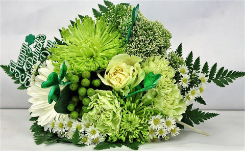 Emerald Isle Hand-Tied Bouquet (TLEI7)