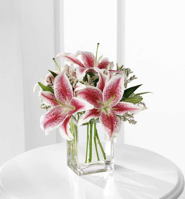 The FTD(r) Pink Lily Bouquet (S22-4298)