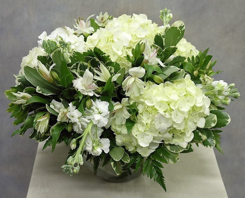 Simply White Bouquet (TLSW10-9)