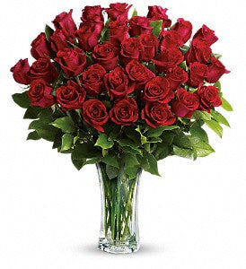 Love and Devotion - Long Stemmed Red Roses (TRS01-1)