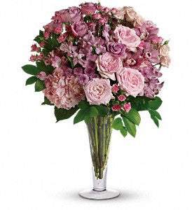 A La Mode Bouquet with Long Stemmed Roses (TRS07-1)