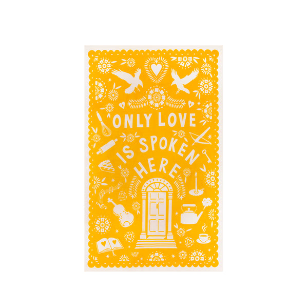 Only Love Tea Towel