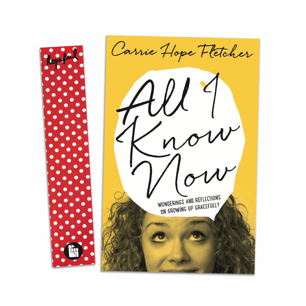 All I Know Now *SIGNED LIMITED EDITION*
