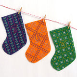 Mini Stockings Advent Calendar Pattern