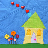 Shiny Happy Houses Quilt Pattern