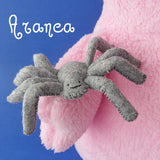 A Not-So-Itsy-Bitsy Spider - felt sewing pattern PDF