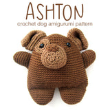 Ashton the Dog Crochet Amigurumi Pattern