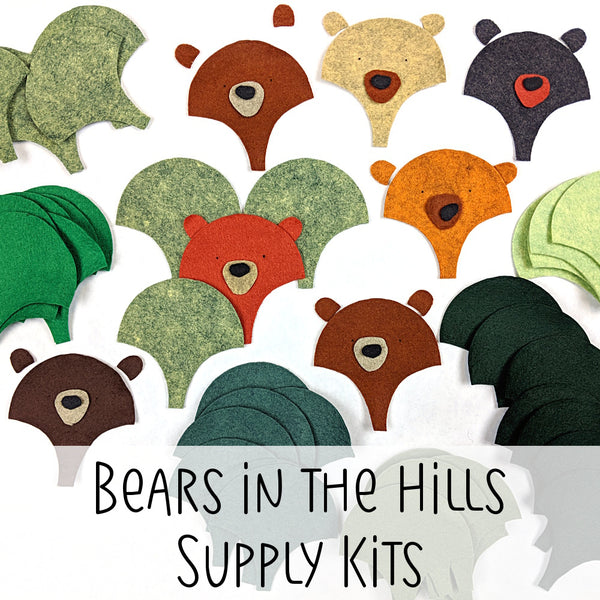 Bears in the Hills Supply Kits