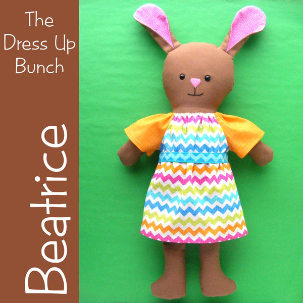 Beatrice - a Dress Up Bunch Bunny