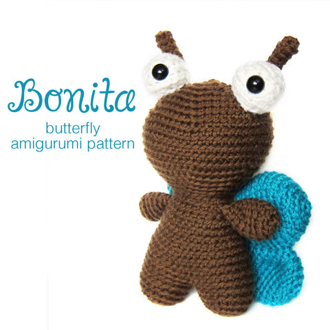 Bonita the Butterfly Crochet Amigurumi Pattern