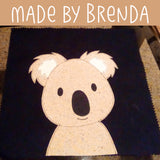 Kevin Koala Applique Pattern