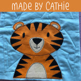 Tucker Tiger Applique Pattern
