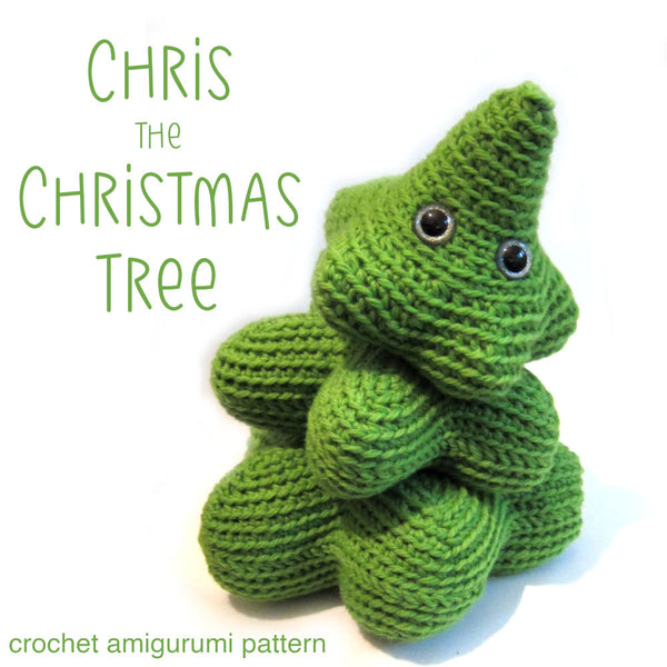 Chris the Christmas Tree Amigurumi Pattern