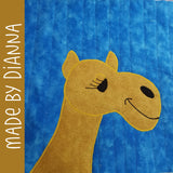 Corbin the Camel Applique Pattern