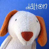 Dalton the Dog Softie Pattern