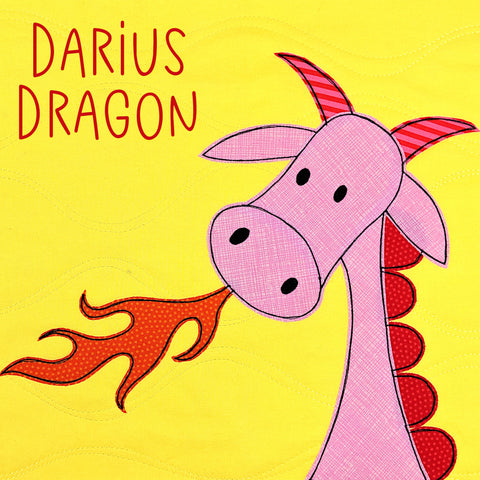 Darius Dragon Applique Pattern