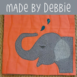 Ellen Elephant Applique Pattern