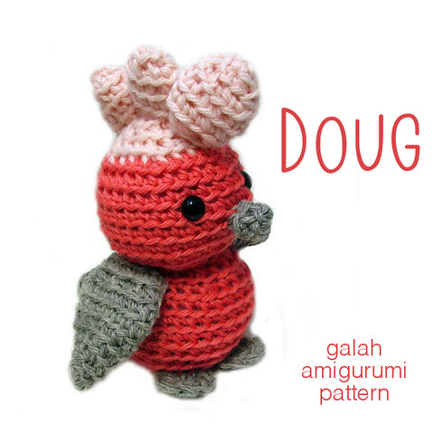 Doug the Galah Crochet Amigurumi Pattern
