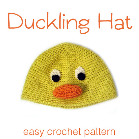 Duck Crochet Hat Pattern