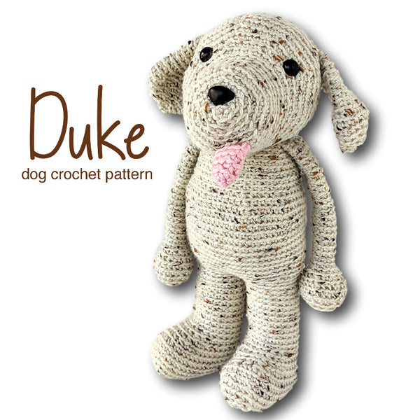 Duke the Dog Crochet Amigurumi Pattern
