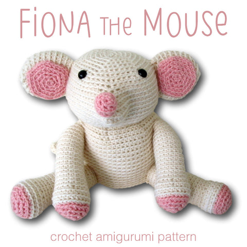 Fiona the Mouse Crochet Amigurumi Pattern