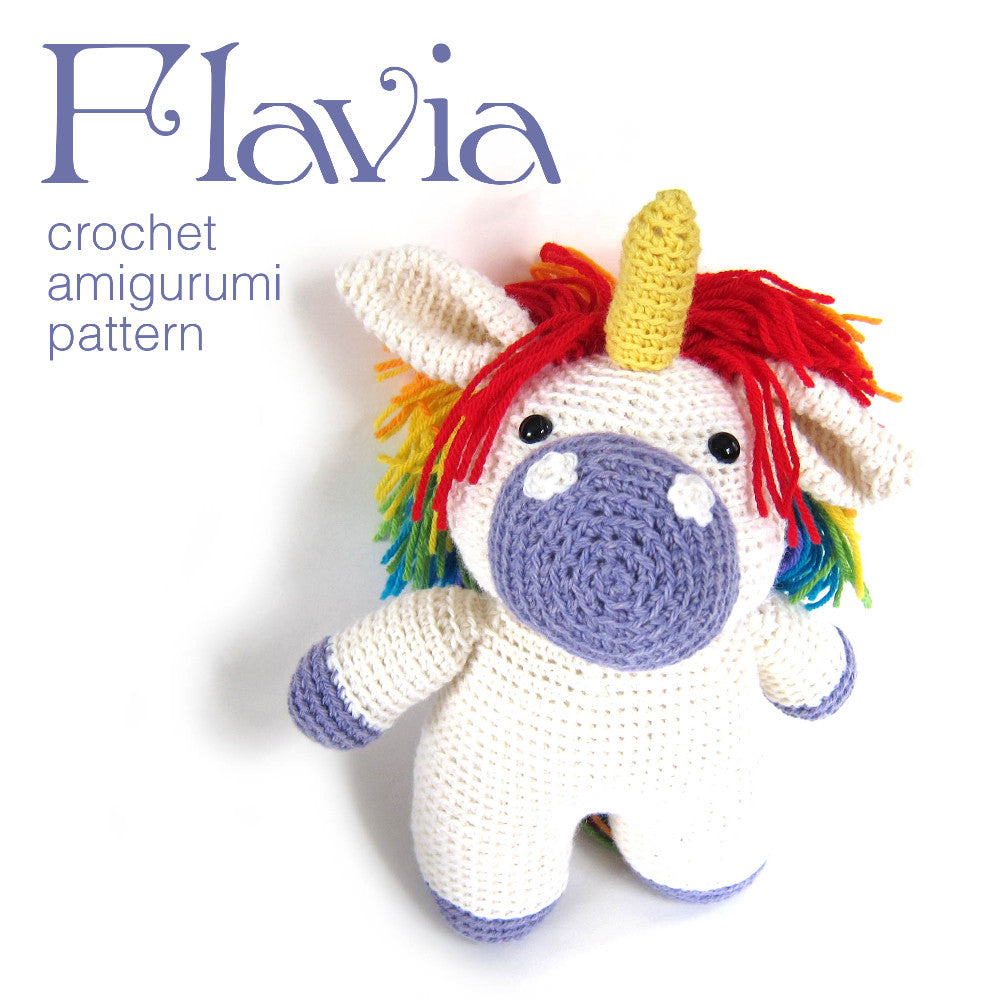 Lily the unicorn amigurumi pattern - Amigurumipatterns.net | 1000x1000