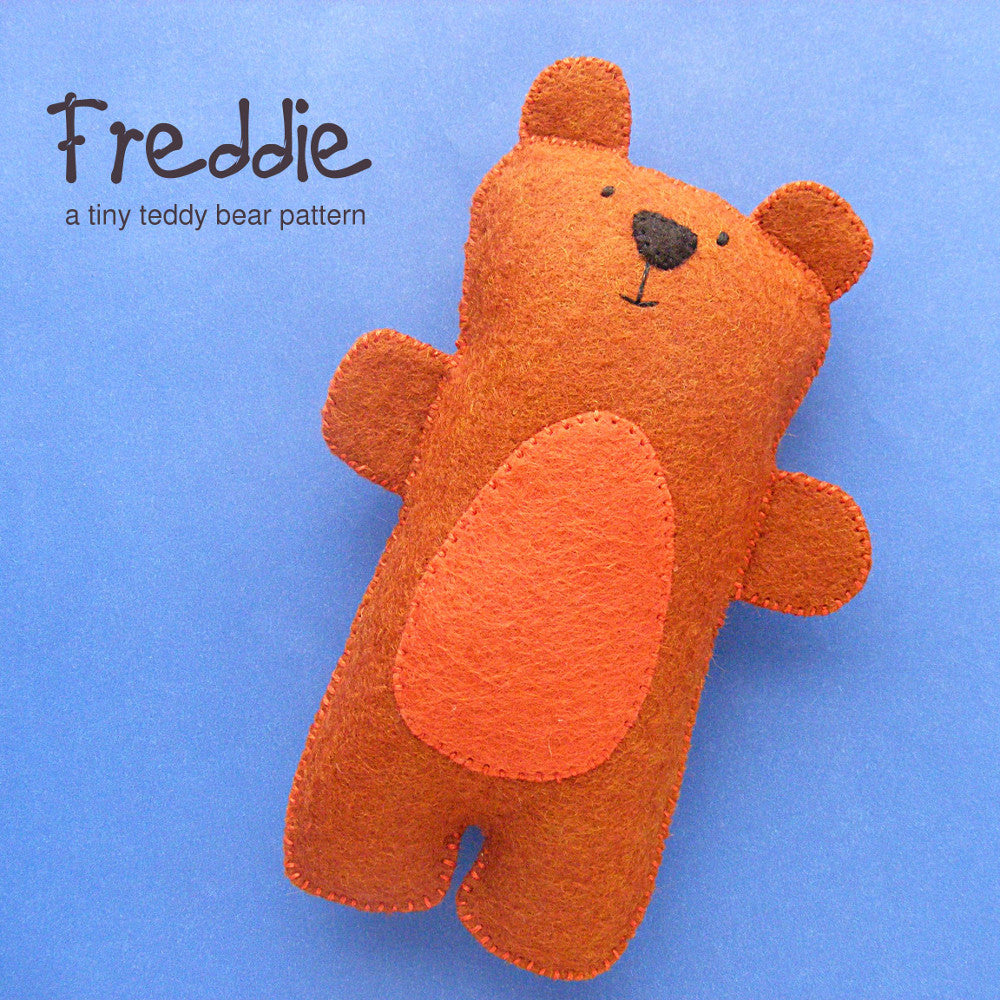 Freddie the Tiny Teddy Bear