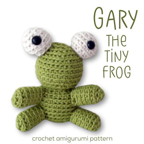 Gary the Tiny Frog Crochet Amigurumi Pattern