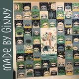 Silly Sloths Quilt Pattern
