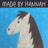 Harrison Horse/Ursula Unicorn Applique Pattern