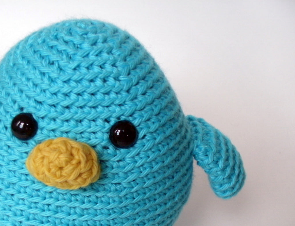 Jay the Bird - crochet amigurumi pattern – Shiny Happy World