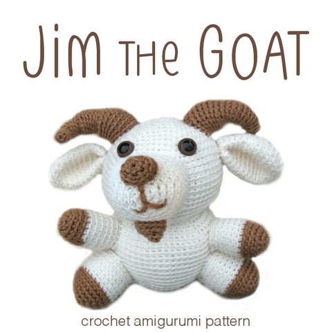 Jim the Goat Crochet Amigurumi Pattern