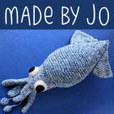 Sandford Squid Crochet Amigurumi Pattern