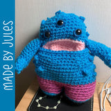 Merrick the Monster Crochet Amigurumi Pattern