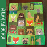 Woodland Critters Quilt Pattern